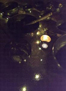 klangskåle der stråler
